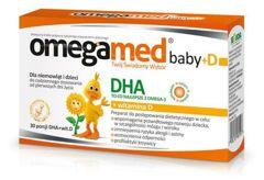 OMEGAMED BABY+D DHA x 30 kapsułek twist-off