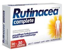 RUTINACEA Complete x 90 tabl. + 30 tabl. GRATIS