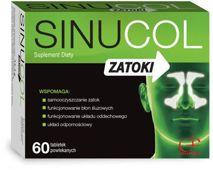 SINUCOL ZATOKI x 60 tabletek