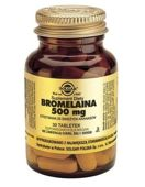 SOLGAR Bromelaina 500mg x 30 tabletek