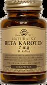 SOLGAR Naturalny Beta Karoten 7 mg x 60 kapsułek