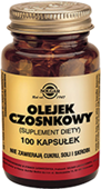 SOLGAR Olejek Czosnkowy x 100 kapsułek - data ważności 31-12-2019