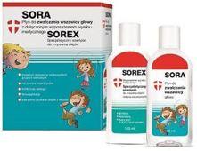 Sora Płyn 100ml + Sorex szampon 100ml