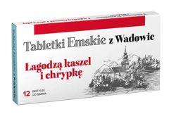 TABLETKI EMSKIE Z WADOWIC x 12 pastylek do ssania