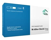 Test M-Albu-Check na białko w moczu x 1 sztuka