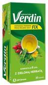 Verdin Fix z zieloną herbatą x 20 saszetek