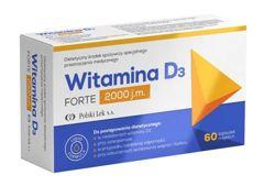 Witamina D3 Forte 2000 j.m. x 60 kapsułek