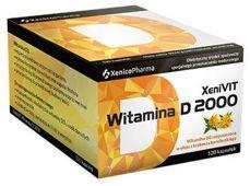 XeniVIT Witamina D 2000 x 120 kapsułek
