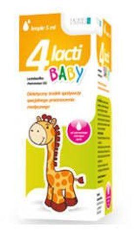 4 LACTI Baby krople 5ml