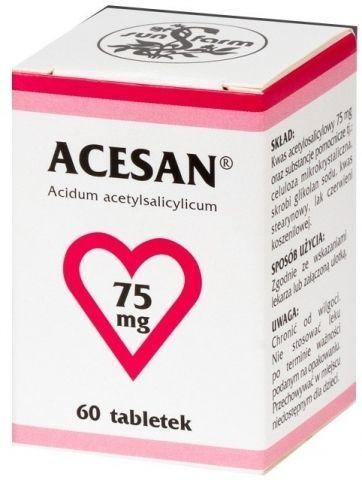 ACESAN 75mg x 63 tabletki