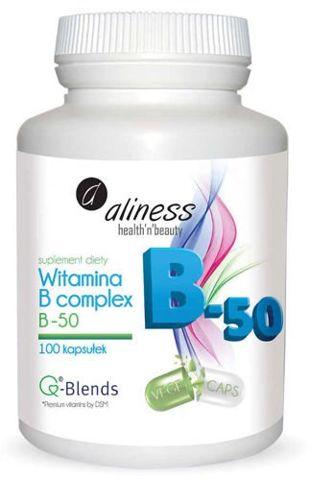 ALINESS Witamina B complex B-50 x 100 kapsułek