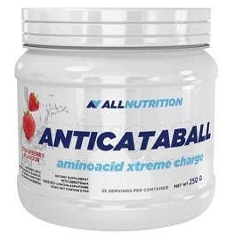 ALLNUTRITION AnticatabALL Aminoacid Xtreme Charge strawberry 500g - data ważności 30-06-2019