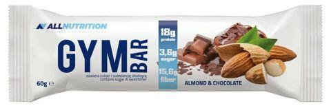 ALLNUTRITION Gym Bar Almond & Chocolate 60g