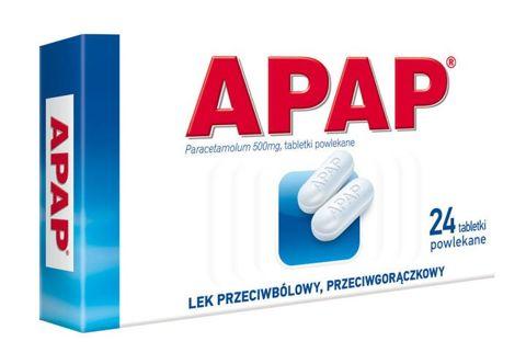 APAP 0,5 x 24 tabletki