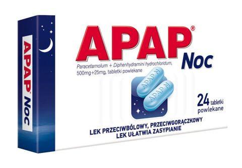 APAP Noc x 24 tabletki