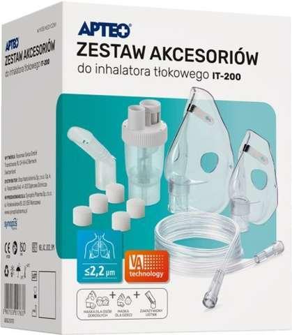 APTEO CARE Zestaw akcesoriów do inhalatora tłokowego IT-200 x 1 sztuka