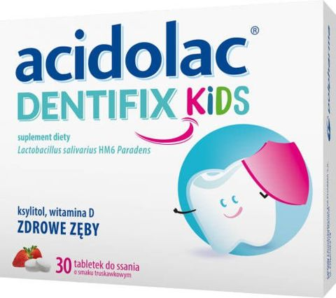 Acidolac Dentifix Kids x 30 tabletek do ssania