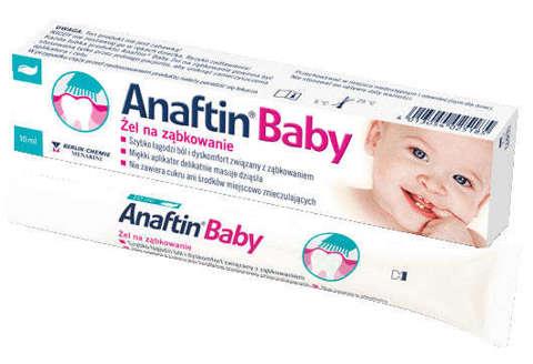 Anaftin Baby żel na ząbkowanie 10ml