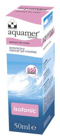 Aquamer Isotonic aerozol do nosa 50ml