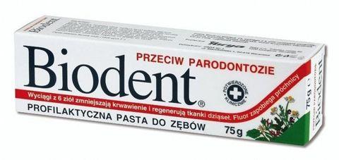 BIODENT Pasta do zębów przeciw paradontozie 75g
