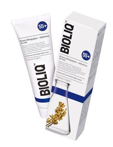 BIOLIQ 55+ Krem liftingująco-odżywczy na noc 50ml