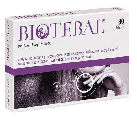BIOTEBAL 5mg x 30 tabletek