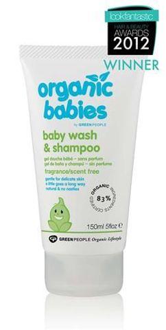 Bezzapachowy żel myjący i szampon dla niemowląt w jednym 150ml