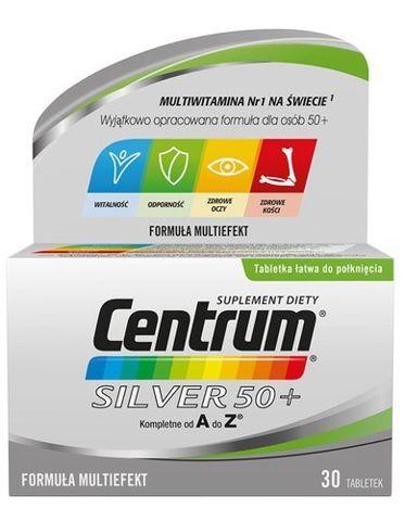 CENTRUM A-Z Silver 50+ x 30 tabletek