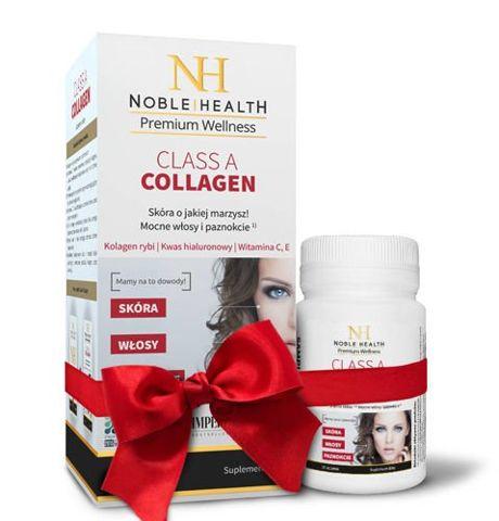 CLASS A COLLAGEN Noble Health x 90 tabletek + 30 tabletek Gratis!