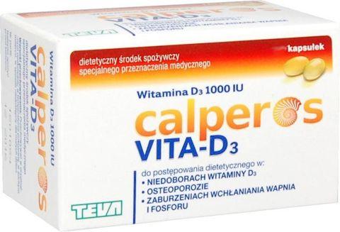 Calperos Vita-D3 x 60 kapsułek