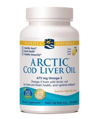 Cod Liver Oil x 90 kapsułek - data ważności 28-02-2019r.