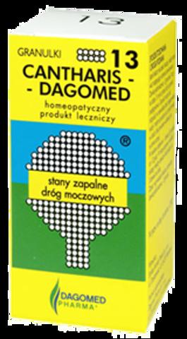 DAGOMED 13 Cantharis - drogi moczowe