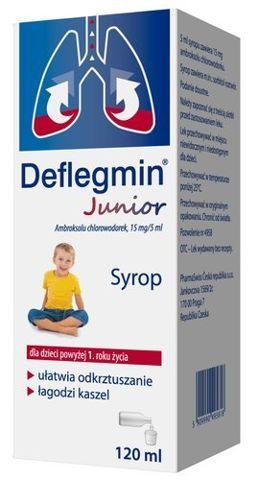 DEFLEGMIN 15mg/5ml syrop 120ml