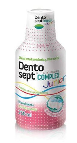 DENTOSEPT COMPLEX Junior płyn guma balonowa 250ml