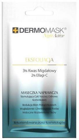 DERMOMASK Night Active Eksfoliacja 12ml x 1 saszetka