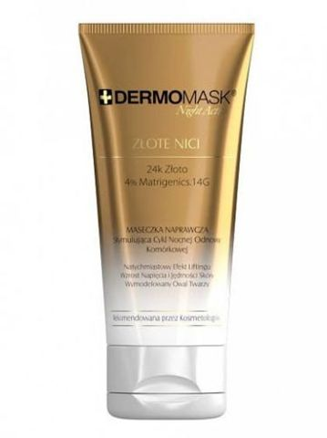 DERMOMASK Night Active Złote nici maska 30ml
