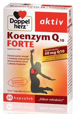DOPPELHERZ Aktiv Koenzym Q10 Forte x 60 kapsułek