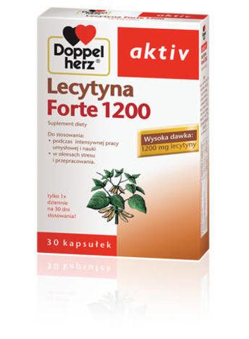 DOPPELHERZ Aktiv Lecytyna FORTE x 30 kapsułek