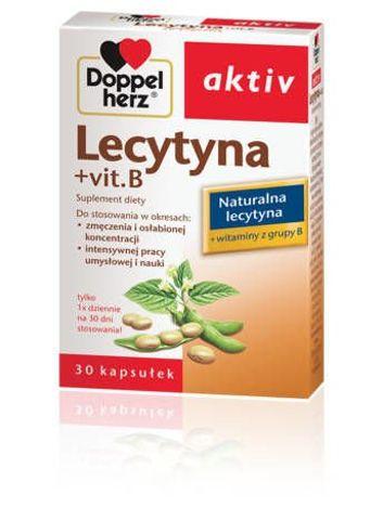 DOPPELHERZ Aktiv Lecytyna + Vit.B x 30 kapsułek