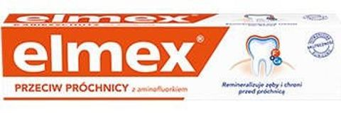 ELMEX Przeciw próchnicy pasta do zębów 75 ml
