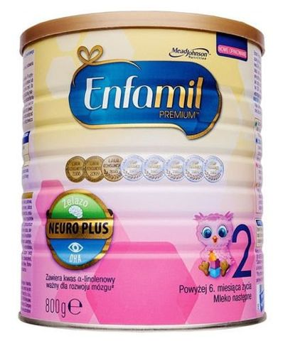 ENFAMIL 2 PREMIUM Mleko od 6-12 m-ca 800g