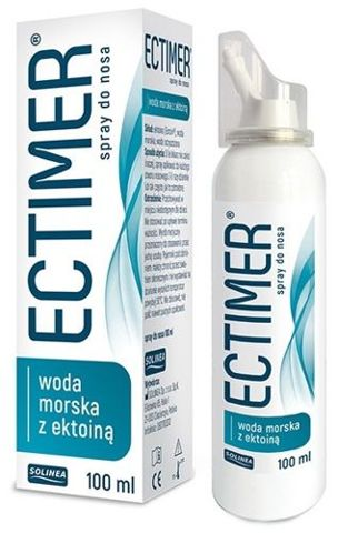 Ectimer Spray do nosa z wodą morską i ektoiną 100ml