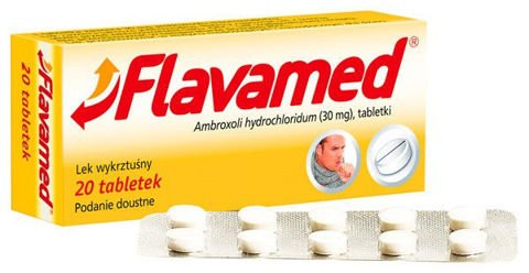 FLAVAMED x 20 tabletek