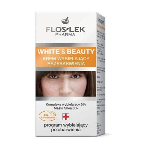 FLOSLEK WHITE & BEAUTY Krem wybielający przebarwienia 50ml