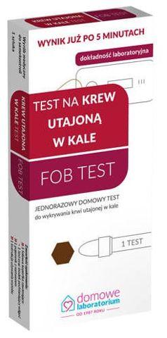 FOB Test krew utajona w kale 1szt