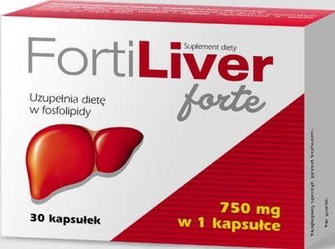 Fortiliver Forte 750mg x 30 kapsułek