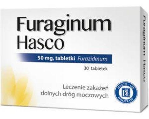 Furaginum Hasco 0,05g x 60 tabletek