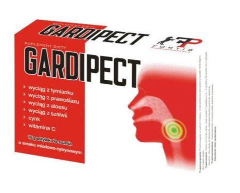 GARDIPECT x 16 pastylek