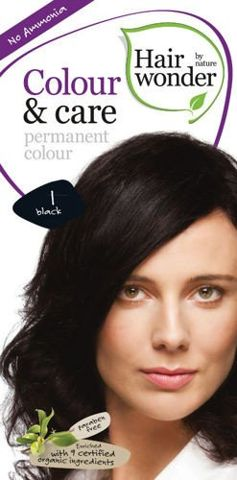 HAIRWONDER Colour & Care Farba do włosów 1 BLACK 100ml