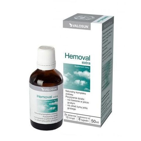 HEMOVAL EXTRA Krople 50ml